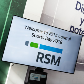 Corporate event photography at corporate sports day