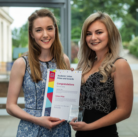 Corporate event photography at an awards ceremony university of nottingham