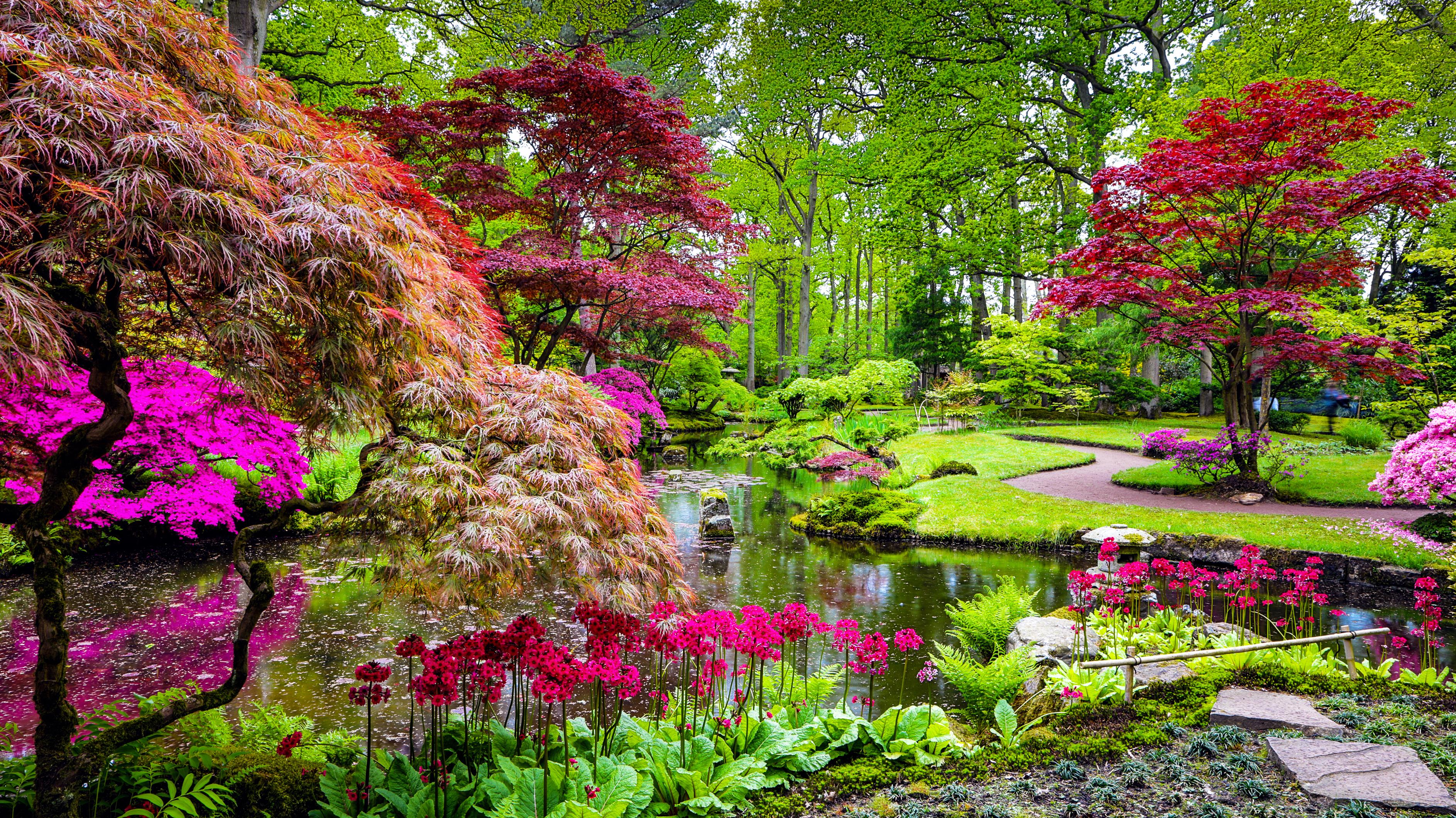 Japanese gardens shutterstock_650471434