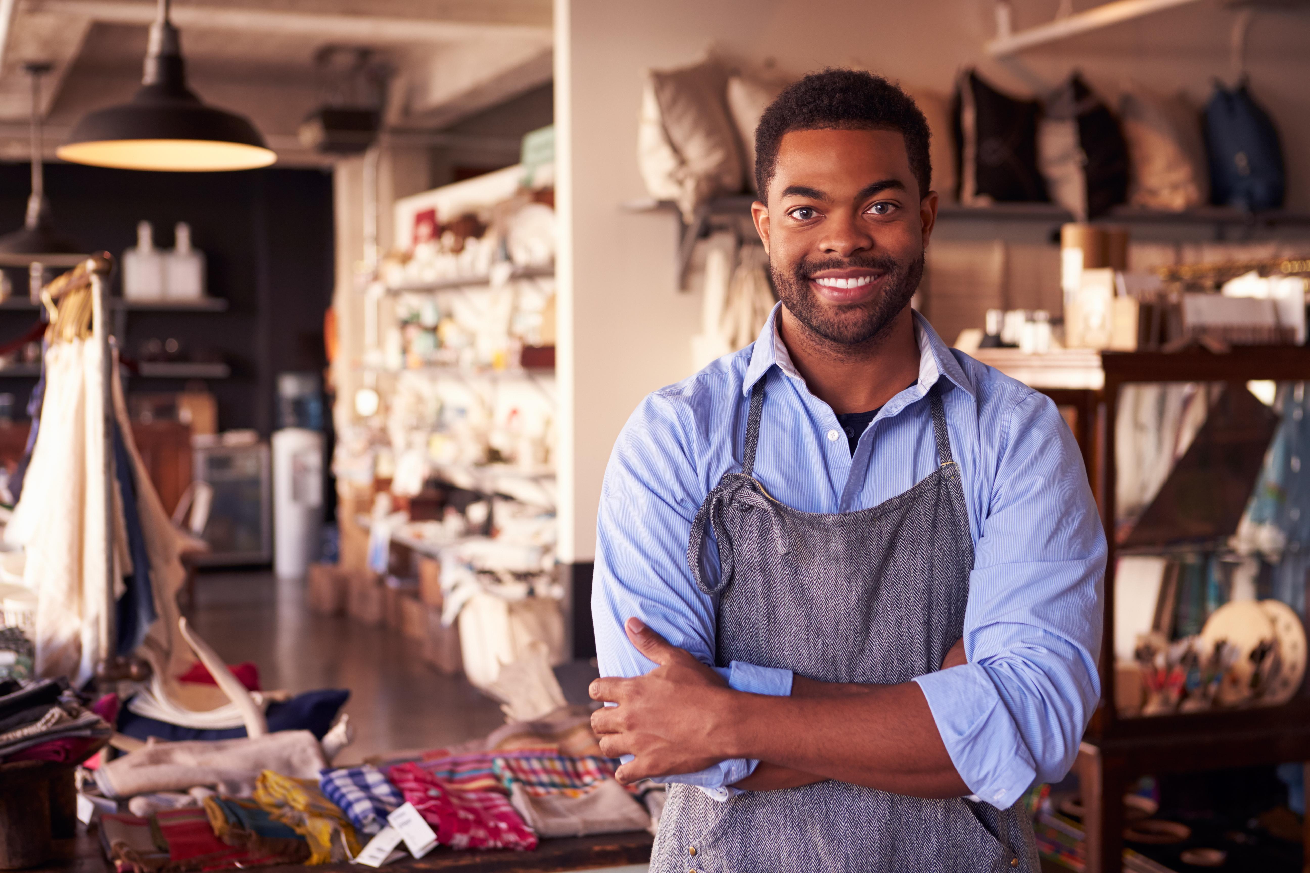 Black Business Man shutterstock_37239352