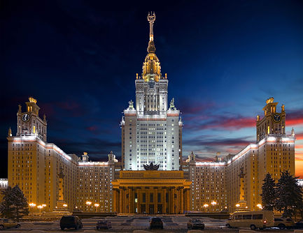 Moscow State University low res shutters