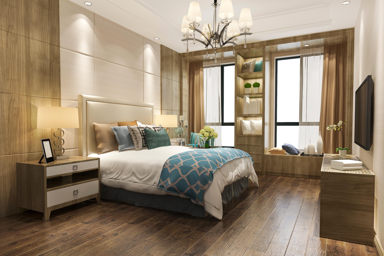 Hotel bedroom shutterstock_1553893337 co