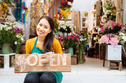 Florist Asian Female shutterstock_228732