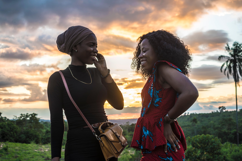 Two black african women shutterstock_150