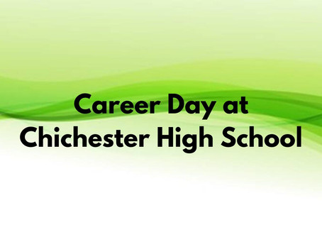 Career Day at Chichester High School