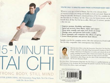 Book review: 15 Min Tai Chi