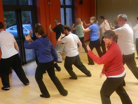 Tai Chi Challenge #4 - How do we train