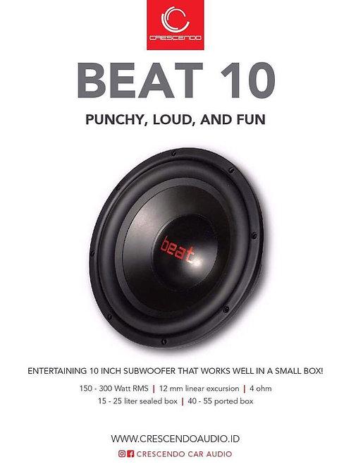 Crescendo Beat 10