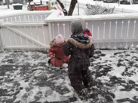 Snø snø snø 🏂❄️