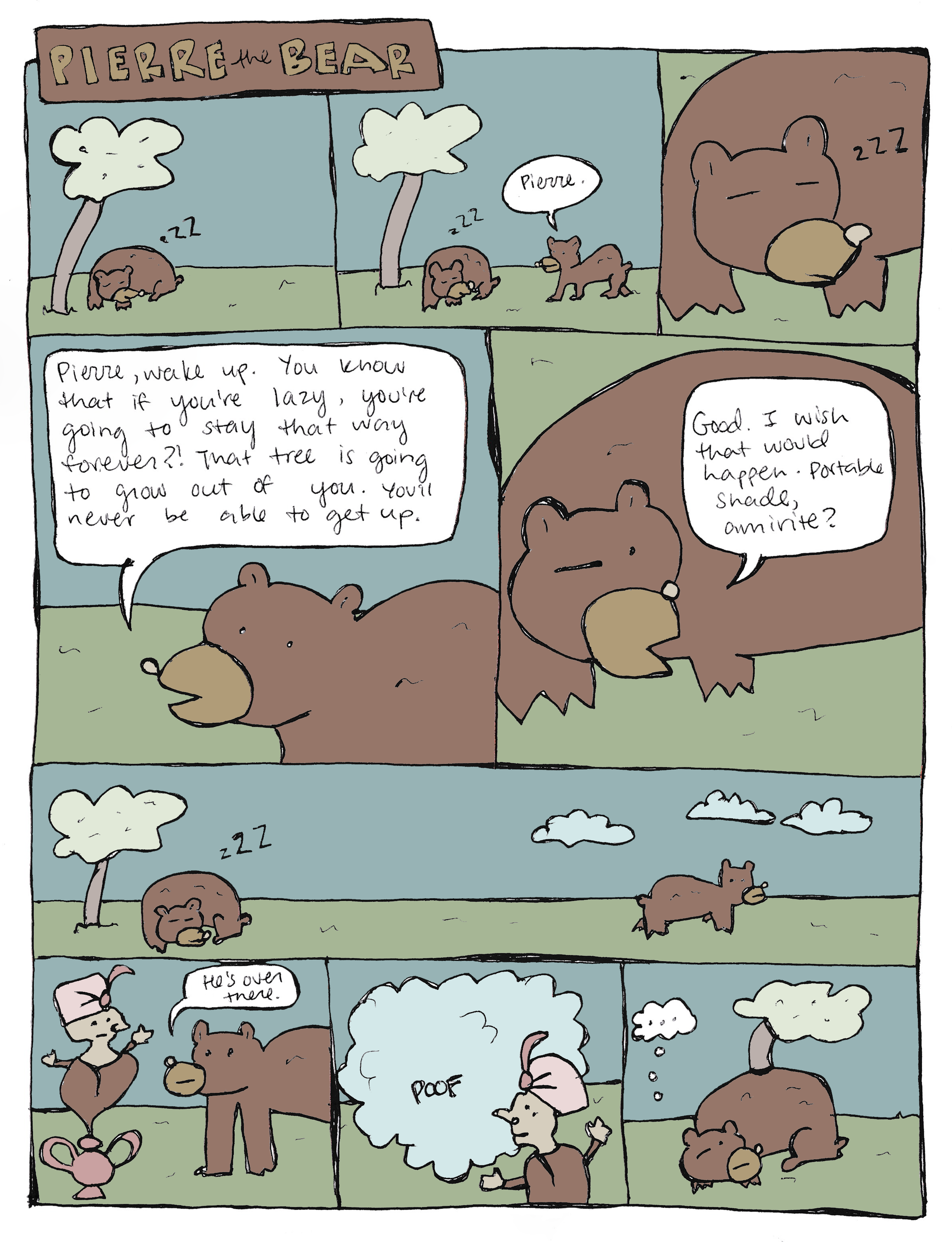 Pierre the Bear