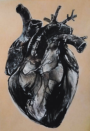"""Signed Print of """"Jovanny's Heart"""""""