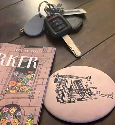 Coaster (with art of your choice)