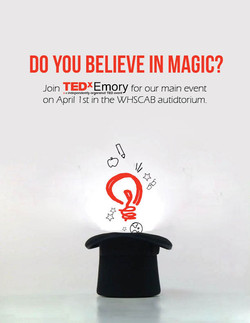 TEDxEmory Main Event Flyer