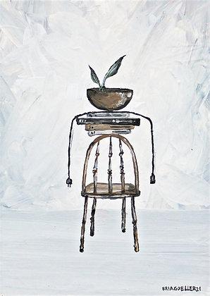 """Signed Print of """"Still Life // Life, Still - Edition III (Chair)"""""""