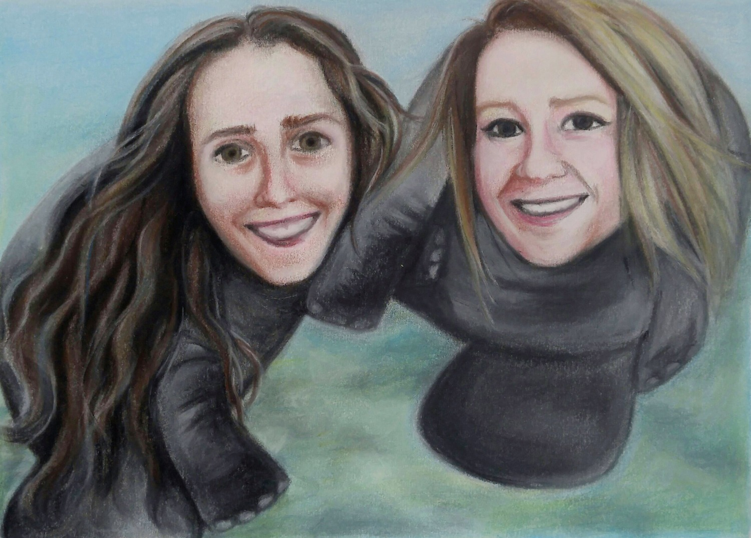 """Draw us as manatees."" - COMMISSION"
