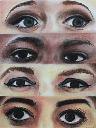 """Signed Print of """"Eyes of Justice"""""""