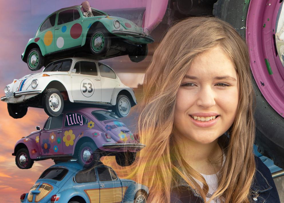 Lilly Cars mash up a lil brighter Li LLL