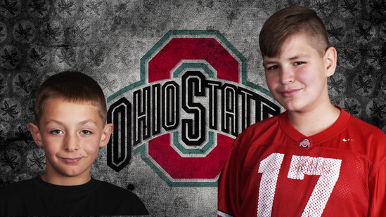 Mason and lil bro with ohio background -