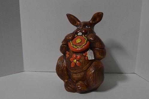 California Originals Rabbit Cookie Jar