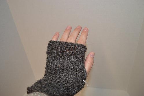 Alpaca Wool fingerless gloves kit- makes 2 pair