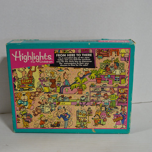 "100 Piece Puzzle ""From here to there"" by Highlights"