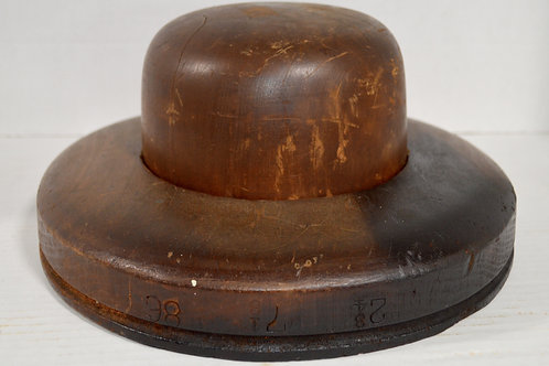 Wooden Hat Mold
