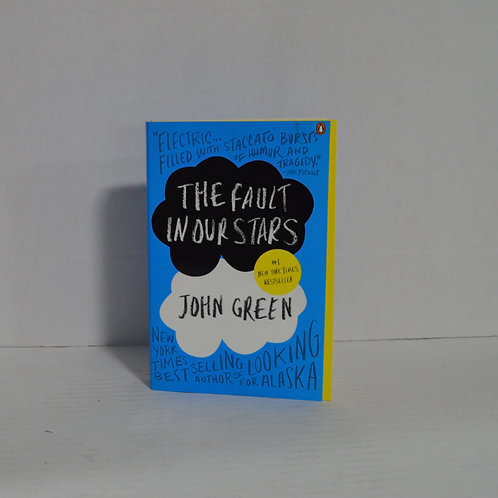 """The Fault in Our Stars"" by John Green paperback"