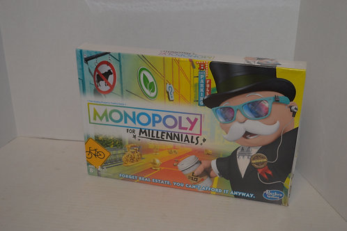 Monopoly for Millennials- SEALED