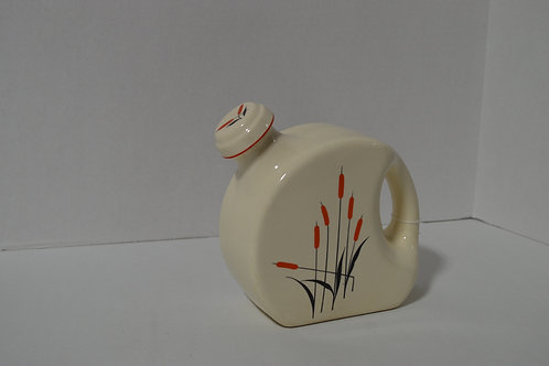 Universal Pottery Red Cat Tail 32 Oz Refrigerator Pitcher with Stopper