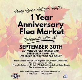 1 Year Anniversary Celebration