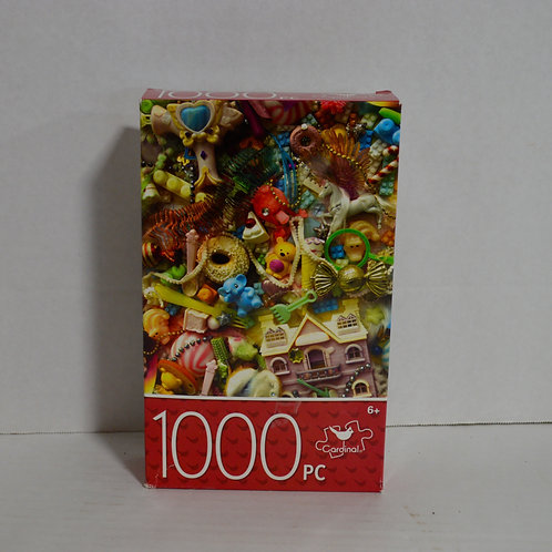"1000 Piece Puzzle ""Tiny Toys"" by Cardinal"