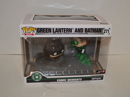 Comic Moments Pop- Green Lantern and Batman