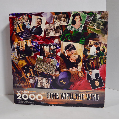 "2000 Pieces ""Gone with the Wind"" by springbok by Hallmark"