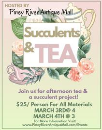 Succulent Party Flyer