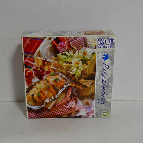 """1000 Piece Puzzle """"Picnic for Two"""" by Puzzlebug"""