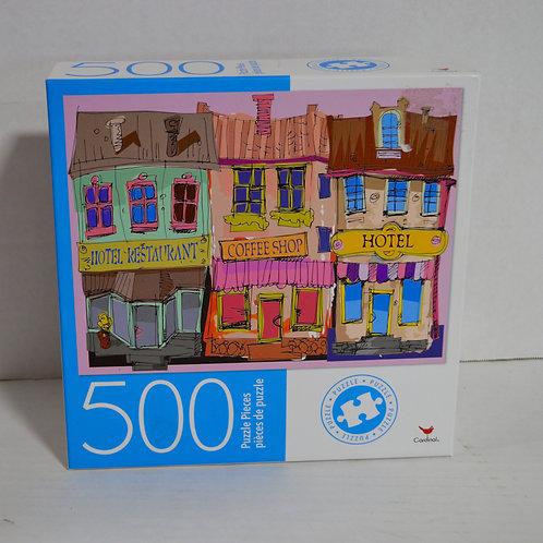 """500 Piece Puzzle """"Facades"""" by Cardinal"""