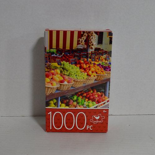 "1000 Piece Puzzle ""Italian City Market"" by Cardinal"