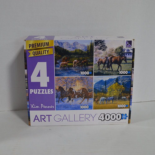 4 1000 piece puzzles by Art Gallery