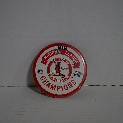 1987 Cardinals National League Champions Button