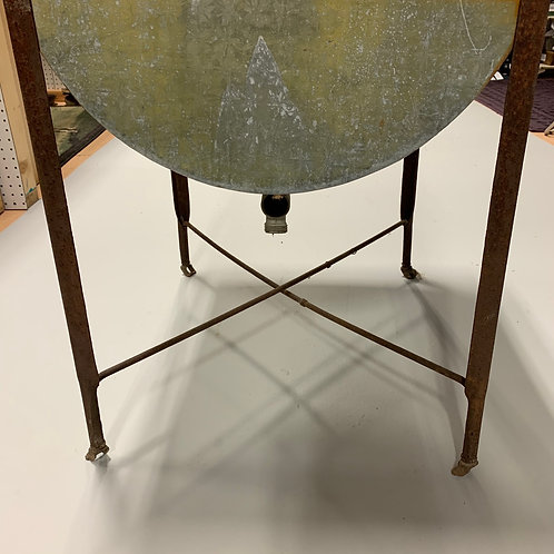 Galvanized Single washtub on stand