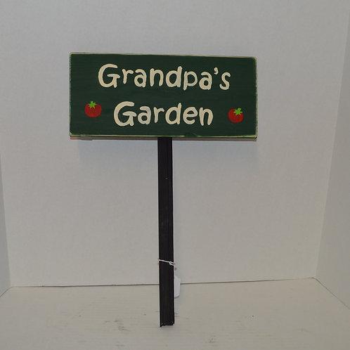 Grandpa's Garden Sign