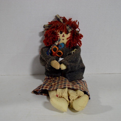 Sewing Raggedy Ann Doll