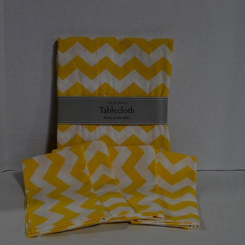 Brand New Set of 4 Cloth Napkins & Tablecloth