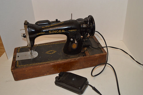 1951 Singer Sewing Machine with Case
