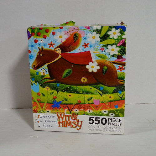 "550 Piece Puzzle ""Wit & Whimsy"" by Ceaco"