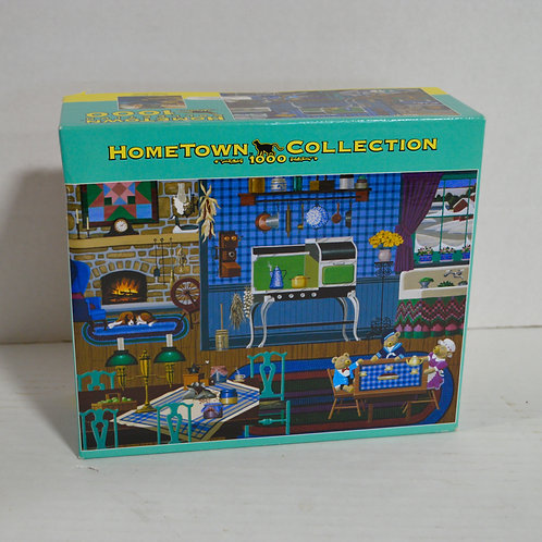 """1000 Piece Puzzle """"Cozy Kitchen"""" by Hometown Collection"""