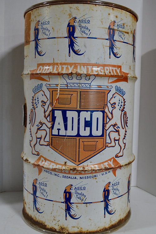 ADCO Drycleaning barrel from Sedalia, MO
