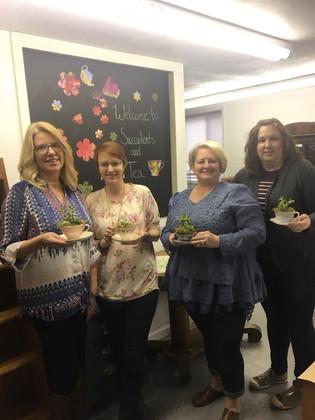 Succulents & Tea Attendees