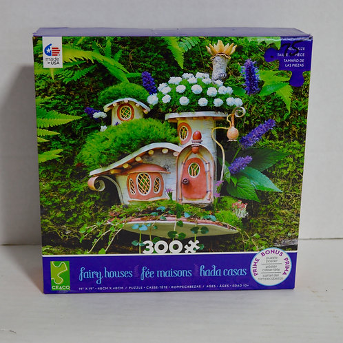 "300 Oversized Pieces ""Fairy Houses"" by CEACO"