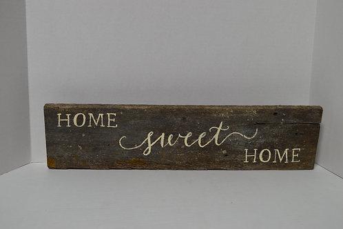 Home Sweet Home Barnwood Sign
